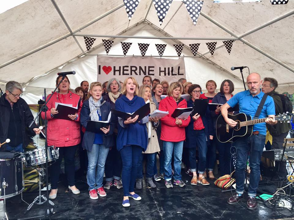 The Cambria Choir in Herne Hill